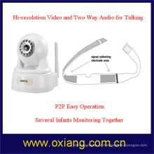 Monitor de bebê de vídeo digital WiFi com visão noturna
