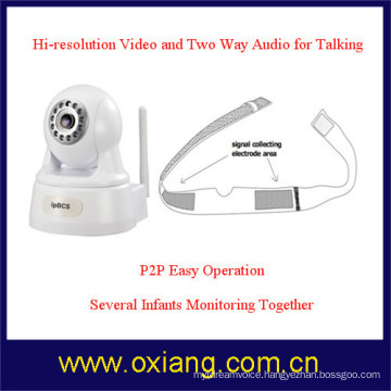WiFi digital video baby monitor with night vision