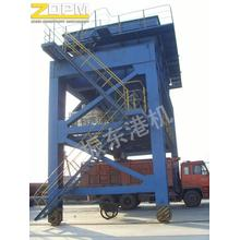Rail Mounted Mobile Hopper/Conveyor Hopper