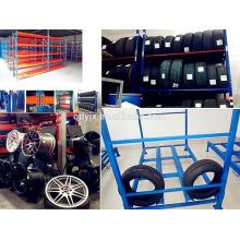 a solução de armazenamento final do pneu, combinando durabilidade com flexibilidade pneu cremalheiras do armazenamento