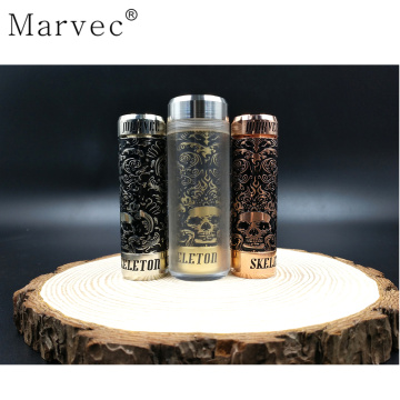 Engraving mechanical MOD for 18650 21700 vape