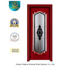 Porta de aço estilo europeu com vidro (s-1016)