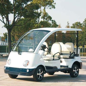 Цветной 4-местный электрический обзорный автомобиль с сертификатом CE (DN-4/5)