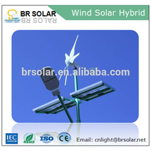 Instalación simple breeze start aerogenerador y sistema híbrido de paneles solares 1000w