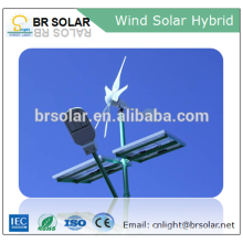 Simple Installation breeze start wind turbine and solar panel hybrid system 1000w