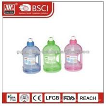 nouveau design de 2014 avec bouteille de pompe en plastique meilleur prix, flacon pompe airless avec pompe à rotation, conteneurs cosmétiques uniques