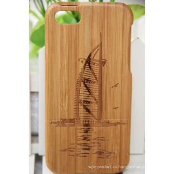 Оснастки случае покрытия древесины с покрытием для iPhone 6 / 6с (4.7 Дисплей)