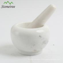 Mortier naturel et pilon en granit / marbre