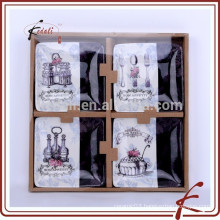Good Quality Small Square Seasoning Dish set of four