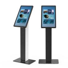 27 inch indoor interactive advertising equipment self service kiosk information