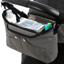 Bequeme Schultergurt-Kinderwagen-Organisator-Taschen