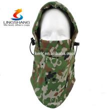 Novo produto Army malha planície termal inverno chapéu velo balaclava