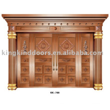 Copper Door KK-700 Big House Door For Villa Design With High Quality
