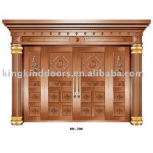 Медные двери KK-700 большой дом Вилла дизайн с высоким качеством