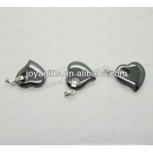 01P1005S / coeur en forme de pendentif / charme coeur / coeur creux / accessoire coeur avec pendentif argent / perche creuse