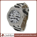Vogue Zebra Print Fashion Lady Watch