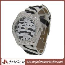 Fashion Zebra Pattern Fashion Quartz Wrist Watch