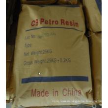 Resina de petróleo C9 para la pintura de goma adhesiva
