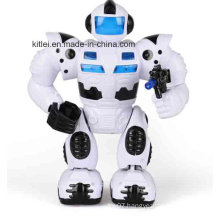 Mini Musician Cool Man Battery Robot Kids Baby Plastic Toy