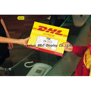 DHL Express Paper Bags, Courier Bags (B&C-J001)