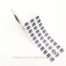 Bedruckbare Haftpapier Barcode-Etikettenrolle Großhandel