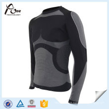 Nylon Polyester Thermal Shirts Men Sexy Basic Thermal Underwear