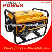 2.5 kW monofásico AC AVR gerador a gasolina