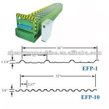 Soffit & liner EFP painel de telhado rolo formando máquina