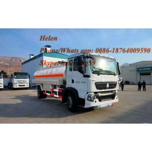 6000 Liters 91HP Mini Oil Truck Truck