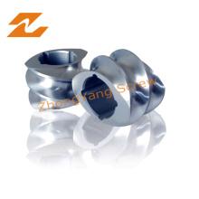 Doppelschneckenextruder Schraubensegment oder Schraubenkomponenten