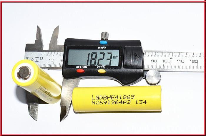 LG HE4 18650 E-cigarette Battery in Big Stock