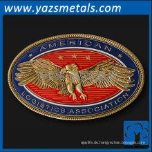 fertigen Sie Metallmünzen besonders an, kundenspezifische hochwertige amerikanische Logistikverbandmünze