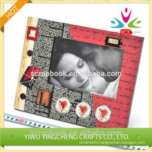 Wholesale good reputationy handmade photo frame 2016 fashion christmas alibaba china supplier
