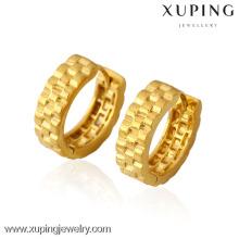 La plupart des bijoux les moins chers en gros, des lignes ondulées boucles d'oreilles vogue