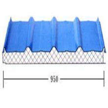 Lightweight Roof Tiles glass cotton building material , ISO