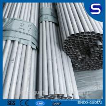 304 Stailess Tube en acier