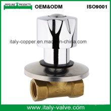 Válvula personalizada del globo de la calidad con la manija del cinc (AV4005)