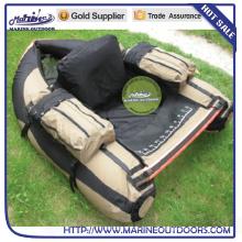 Heißes verkaufenprodukt treibendes Floss-Rohrpontonboot für das Fischen