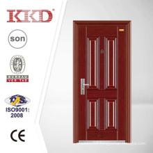 Cheap Anti Theft Metal Door KKD-322 for Exterior Use