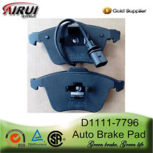 D1111-7796 Front Brake Pad for Audi A4 A6 A8 A6L