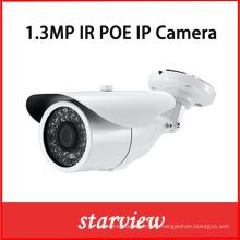 1.3MP IP Poe IR Cámara impermeable de la red de la bala de la seguridad del CCTV (WH11)
