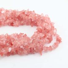 Atacado pedras preciosas semi preciosas chips de contas de pedra de quartzo