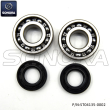 Derbi Senda Crank Sharf Bearing Set Incl. Oil Seals (P/N:ST04135-0002) Top Quality