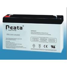 Sealed Lead Acid Battery 6V7.2ah for VRLA
