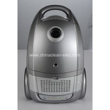 silver gray led display vacuum cleaner