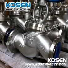 Válvula de globo estándar GB de acero fundido