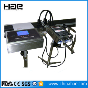 Industrial touch screen multi nozzle inkjet printer