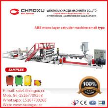 Chaîne de production en plastique de machine d'extrudeuse de bagage de valise d'ABS de vente chaude