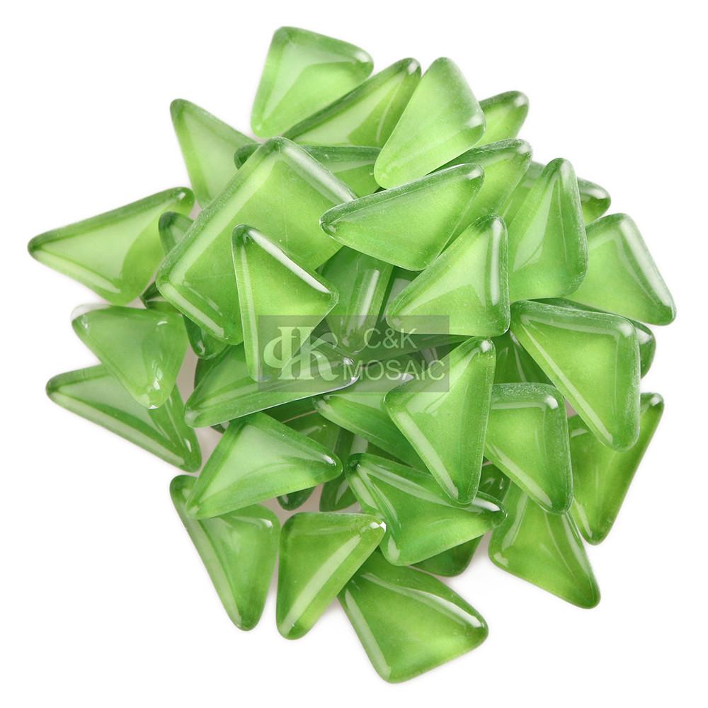 Green Mosaic Chips for Garden Mosaic