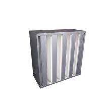 Minipleat Industrial V-Bank Cell Rigid H13 HEPA Air Filter